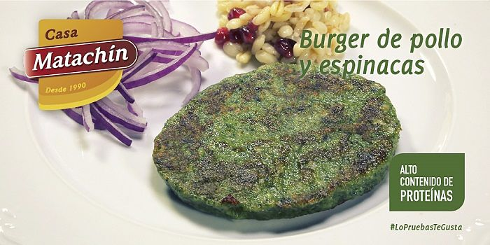 hamburguesa espinacas