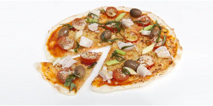 pizza mediterranea casera