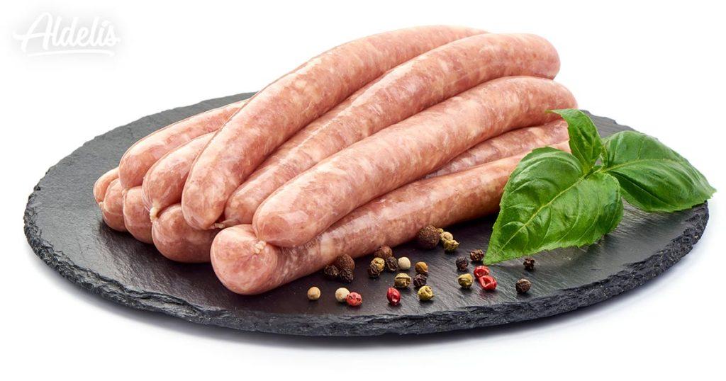 salchichas-pollo-Aldelis