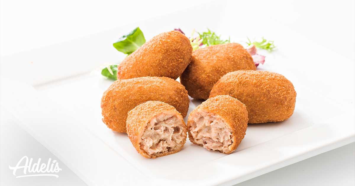 nueva receta croquetas pollo