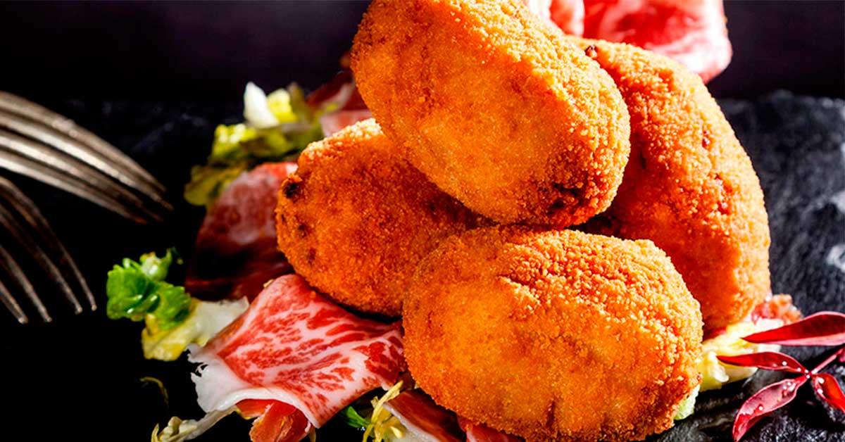 receta casera croquetas jamon