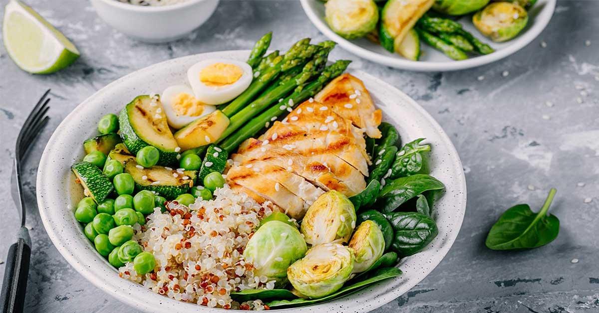 cenas saludables bajas en calorias