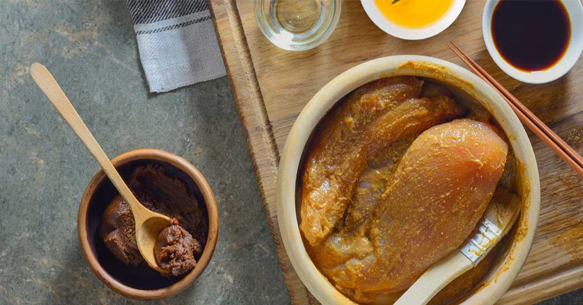 receta pollo miso