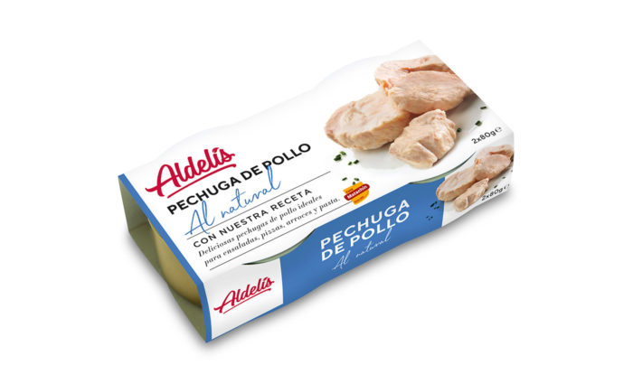 Conserva pechuga pollo natural 2x80