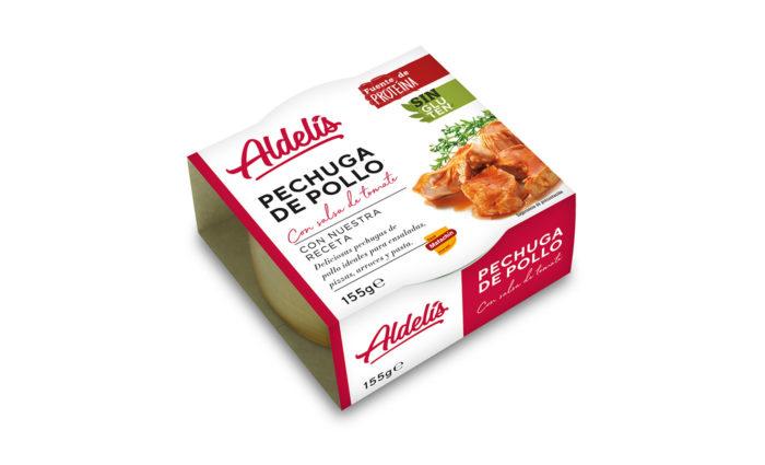 conserva de pollo con tomate 155g