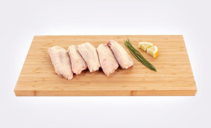alas de pollo frescas en situacion