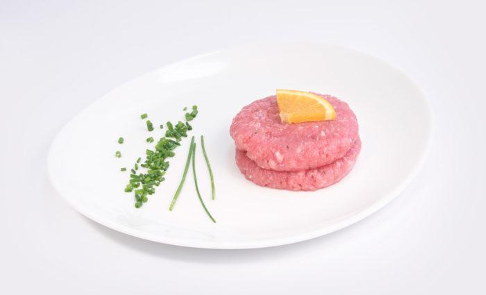 hamburguesa de pavo en situación