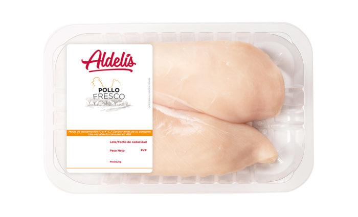 Pechuga de pollo fresca