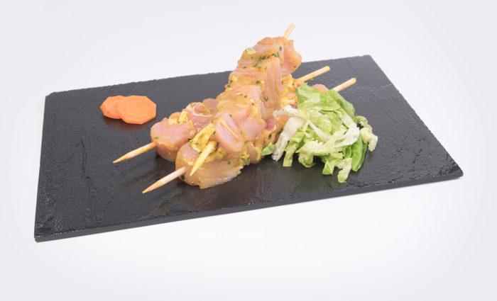 Pinchos de pollo andaluz situacion