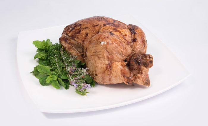 pollo asado en situacion