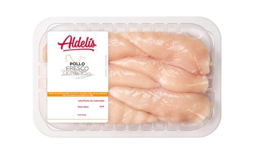 solomillo de pollo fresco