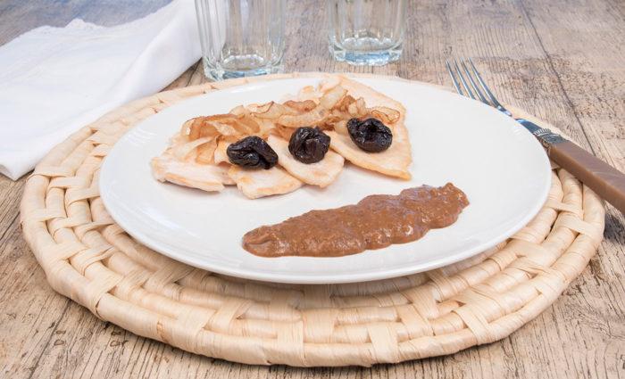 Salsa de ciruelas cocinada