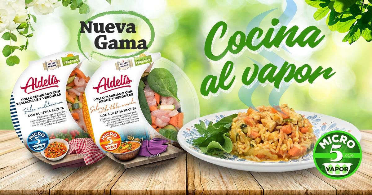 nueva gama productos cocina vapor