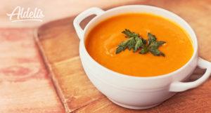 crema zanahoria curry