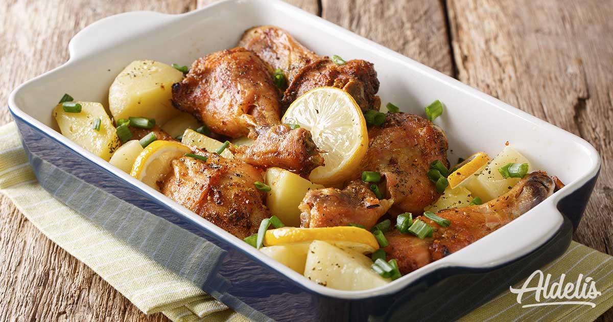 receta pollo limon