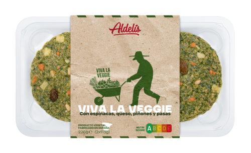 Viva la Veggie: Espinacas, queso, piñones y pasas