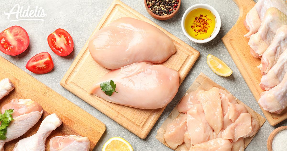 Marinados de pollo Aldelís