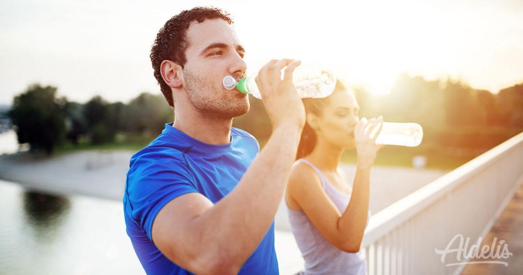hidratación Aldelís