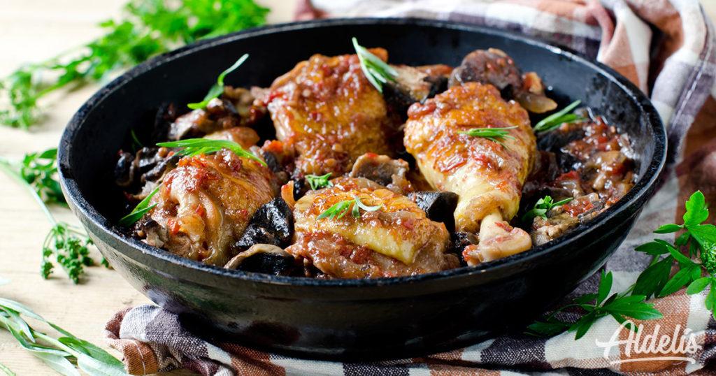 jamoncitos de pollo Aldelís