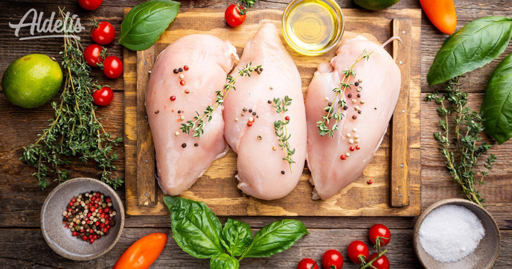 pechuga de pollo nutricional Aldelís