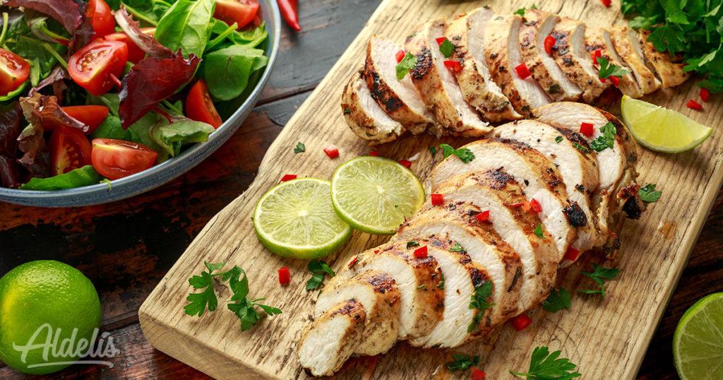 proteína de pollo Aldelís
