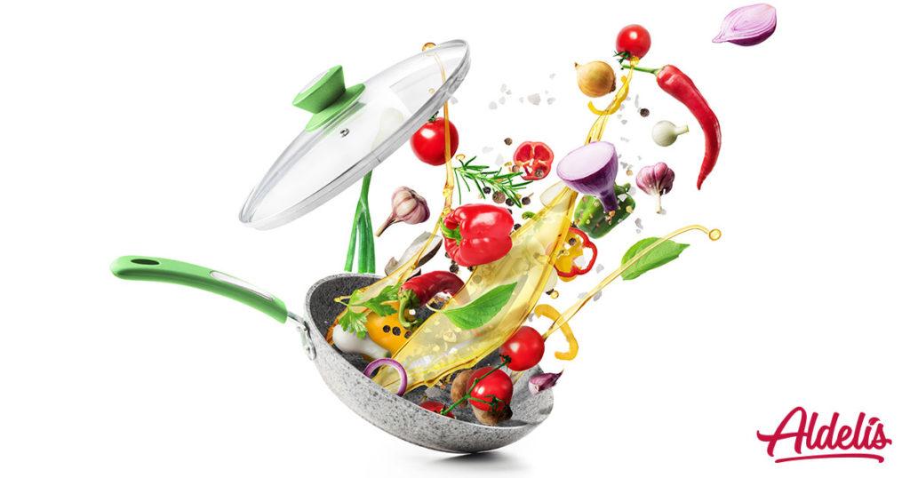 Alimentos a la plancha Aldelís