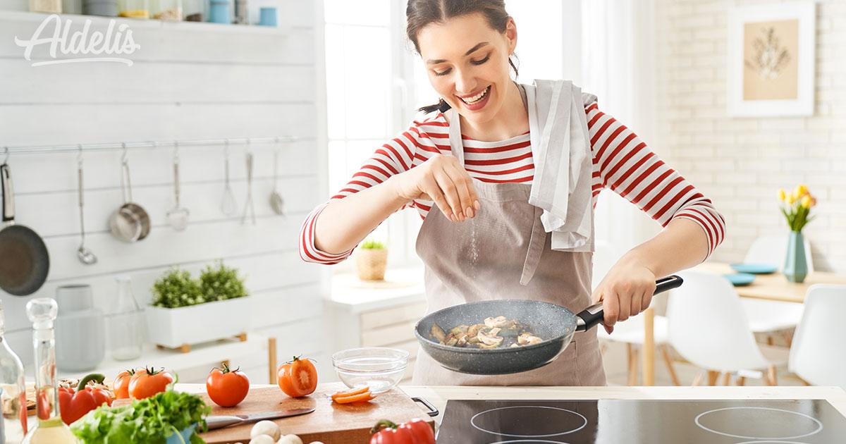 Cocinar a la plancha Aldelís