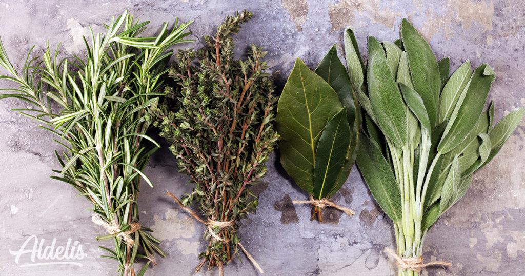 Hierbas aromáticas Aldelís