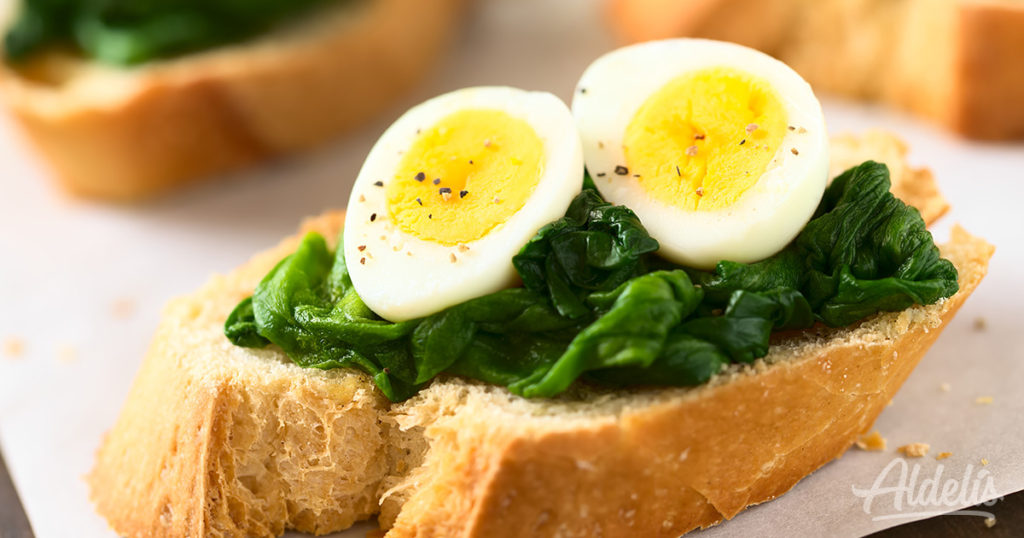 Huevo duro Aldelís