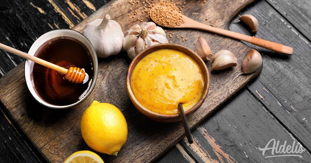 Salsa de mostaza Aldelís