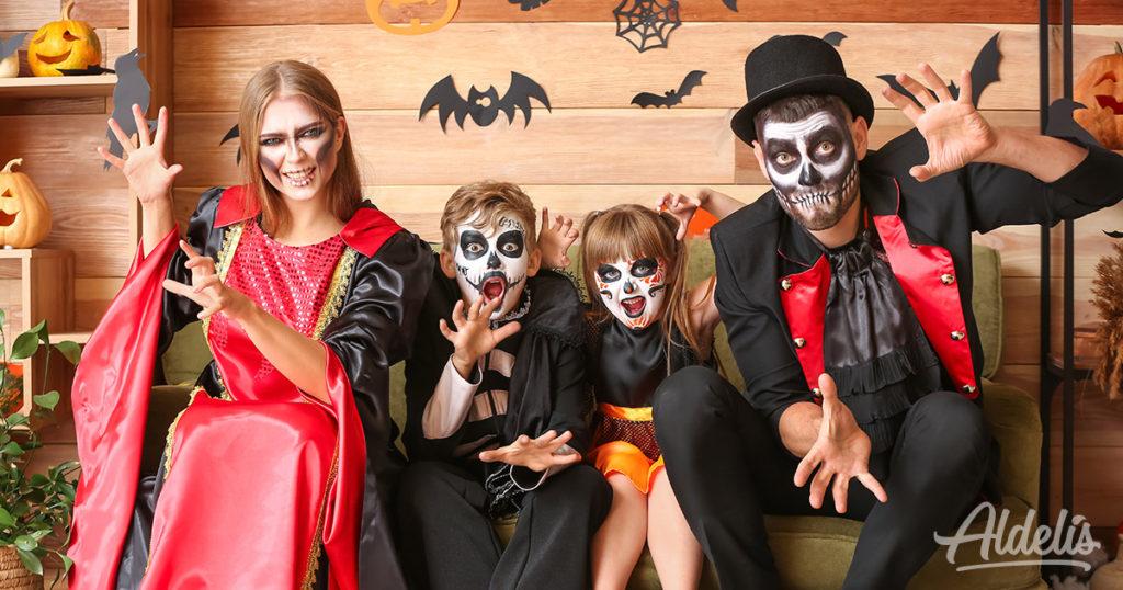 El baile de los zoombies Halloween