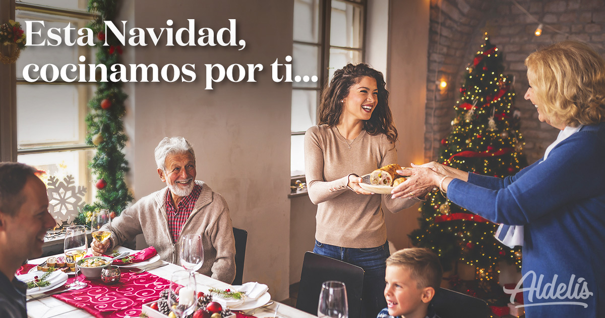Navidad cocinamos por ti Aldelís