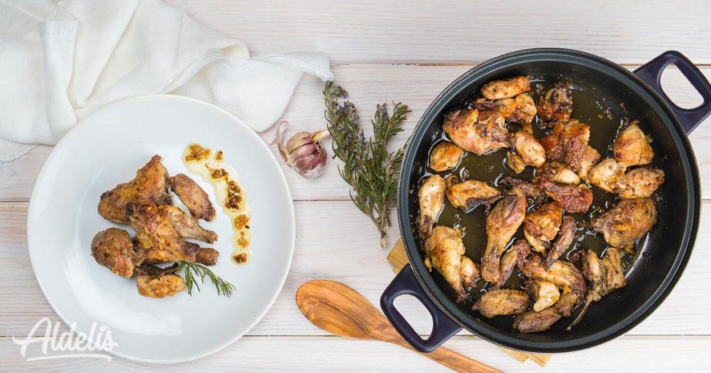 pollo-ajillo-Aldelís