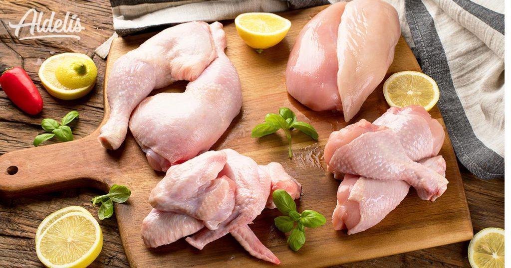 pollo-troceado-Aldelís