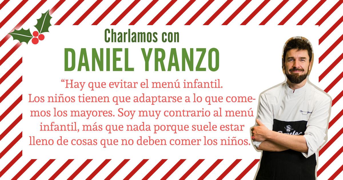 Charlamos con Daniel Yranzo