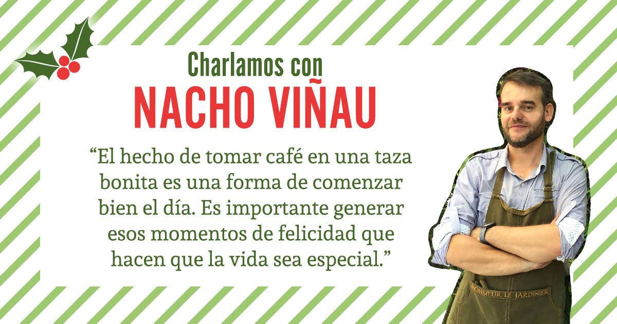 Charlamos con Nacho Viñau