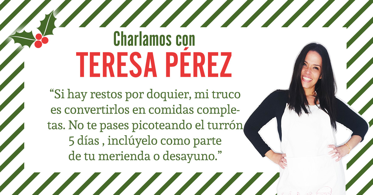Charlamos con Teresa Pérez