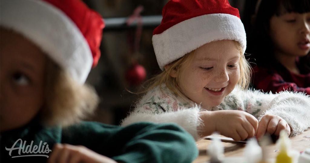 manualidades-niños-navidad-Aldelís