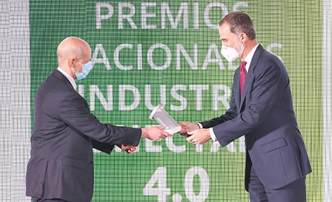 aldelis premios nacionales Industria conectada 4.0