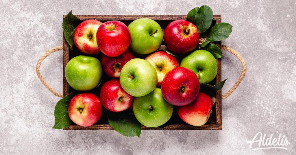manzanas-prevenir-alergias-Aldelís