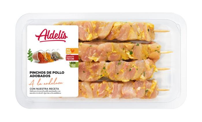 pinchos de pollo andaluz