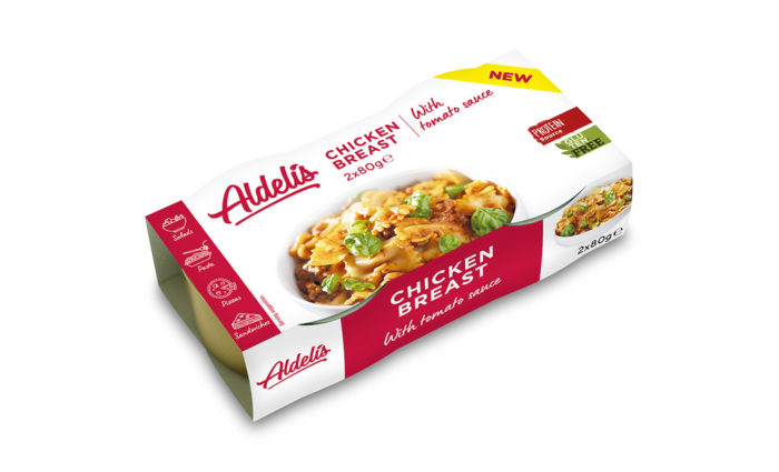 Chicken Breast With Tomato Sauce 2x80g