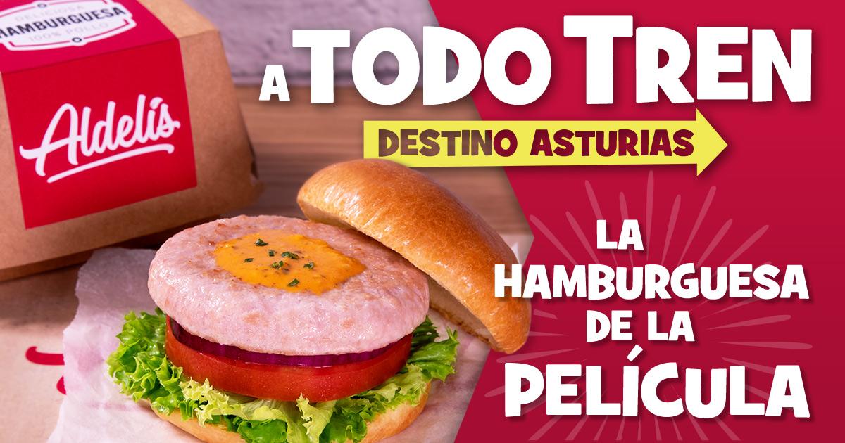 A todo tren, destino Asturias: La hamburguesa de Aldelís