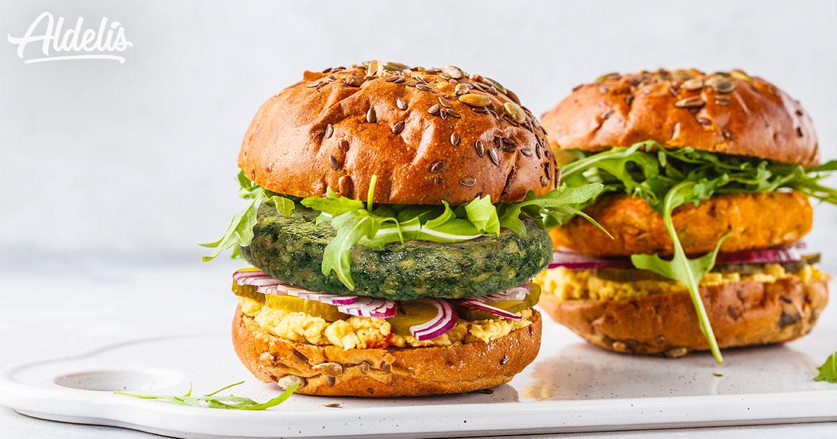 nutrición: hamburguesa