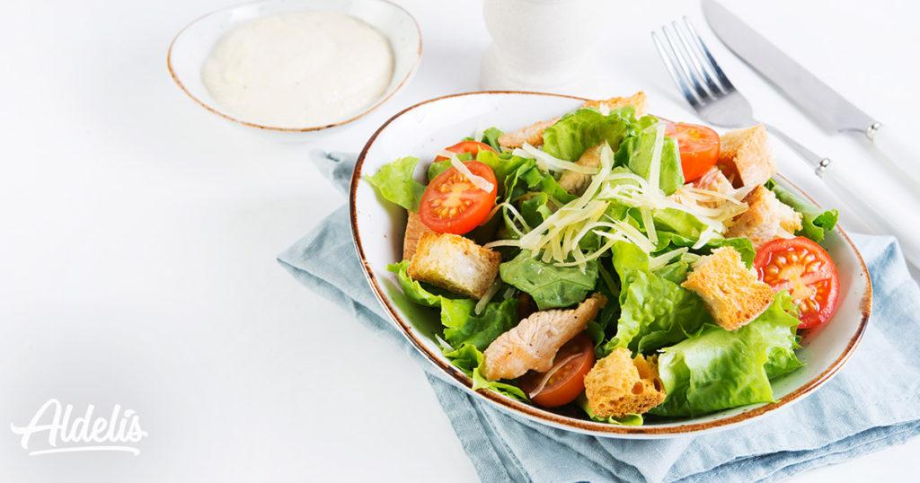 nutrición: ensalada