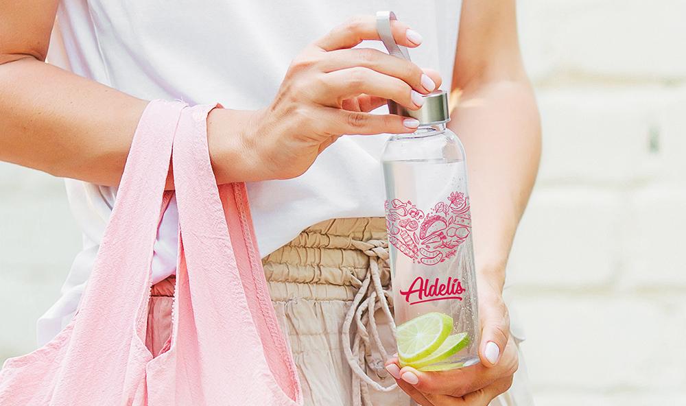 Promoción Botella Tiendas Aldelís